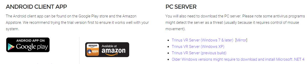 PODSTAWY #3 – Konfiguracja PC -> Android – TrinusVR