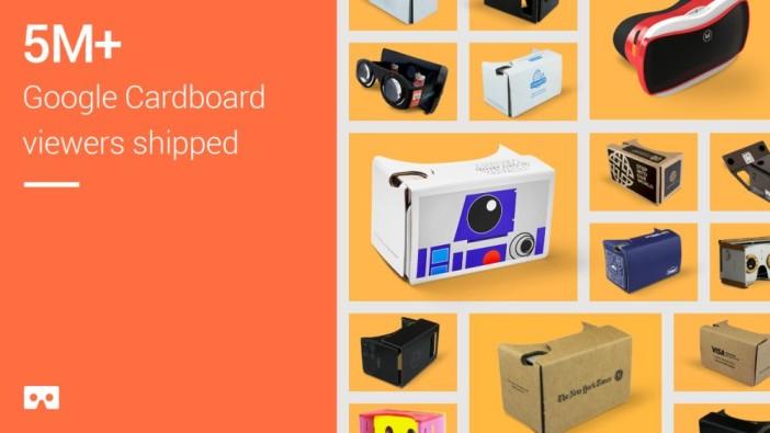 Google Cardboard: 5mln sprzedanych egzemplarzy!