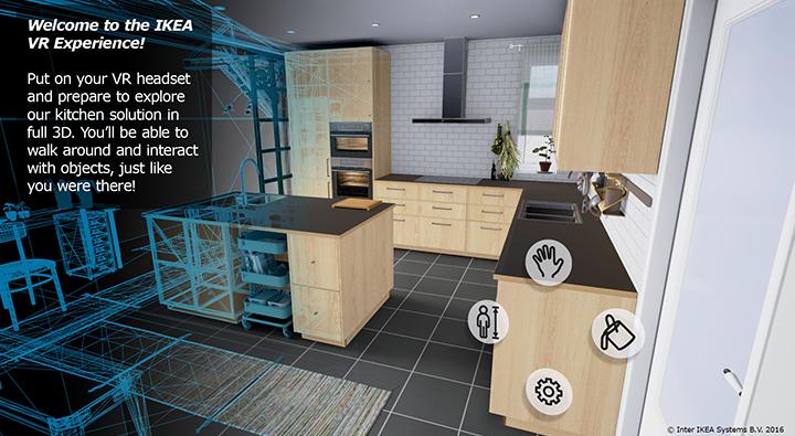IKEA VR Experience – spacer po wirtualnej kuchni