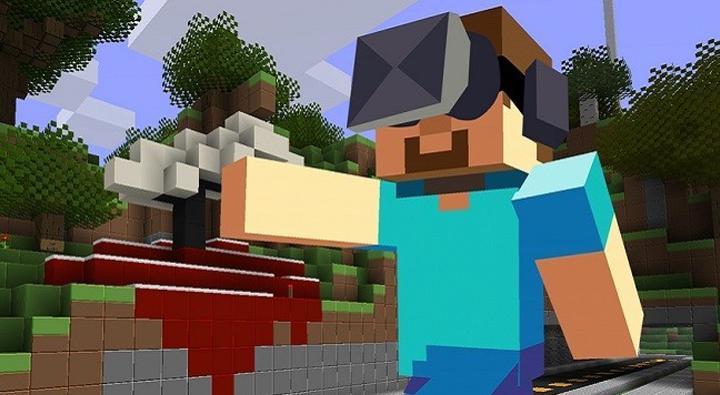 Minecraft VR – wirtualna klockowa rzeczywistość
