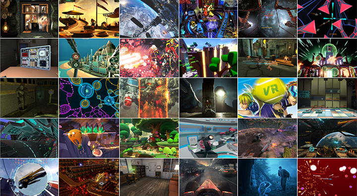 Oculus Home ilista gier wydawanych naOculus Rifta na28 marca