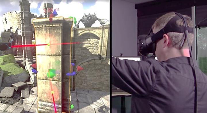 Prace na silniku Unreal Engine oraz Unity przy użyciu środowiska VR
