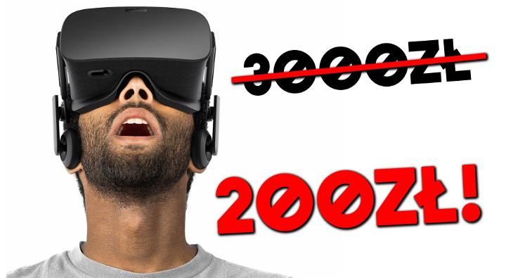 Odczucia VR jak na Oculusie, ale za 200zł? – JackQuack pokazuje, że to możliwe