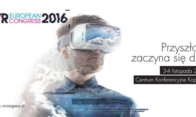 Czy VR uratuje świat? Program European VR Congress 2016