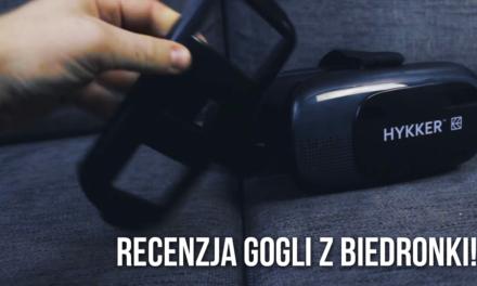 Hykker VR 3D Glasses – Test Gogli VR z Biedronki! Czy warto?
