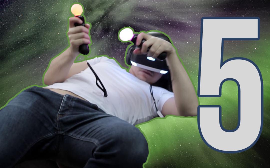 5 Rzeczy, które PSVR robi dobrze!