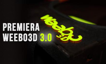 Premiera Weebo 3D 3.0