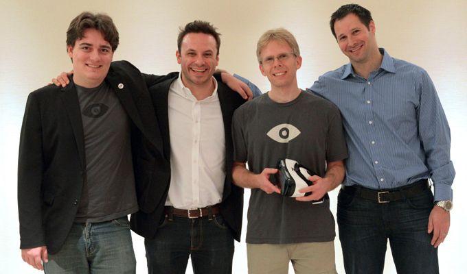 Roszady personalne w Oculus VR: Brendan Iribe już nie jest CEO, nowa rola Palmera Luckeya