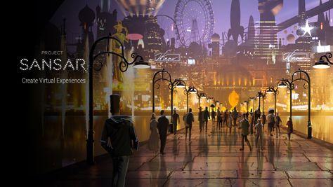 Twórcy Second Life pokazali sposób tworzenia wirtualnych światów w Project Sansar