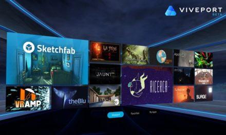 HTC wprowadzi usługę miesięcznej subskrypcji wybranych treści VR ze sklepu Viveport