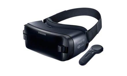 Samsung pokazał nowy model gogli Gear VR z dedykowanym kontrolerem ruchowym
