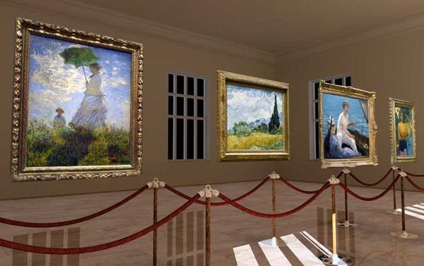 Art Plunge pozwala wejść do wnętrza obrazów wielkich mistrzów malarstwa