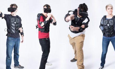 "Kamizelka haptyczna NullSpace VR ""Hardlight"" trafiła na Kickstartera"