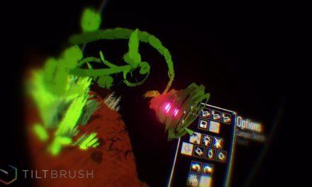 Tilt Brush otrzymuje wsparcie dla gogli Oculus Rift