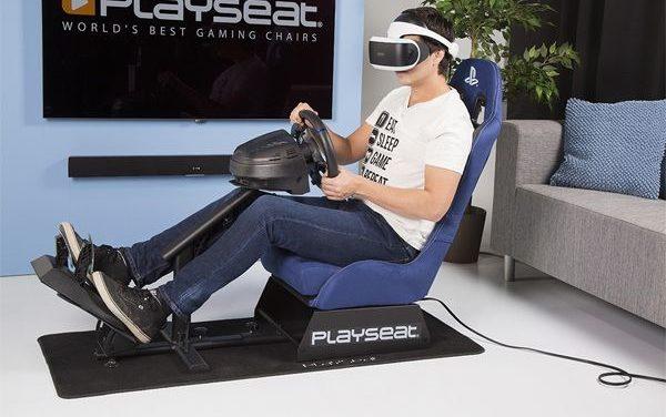 Dwa licencjonowane fotele rajdowe dla PlayStation VR dołączają do oferty Playseat