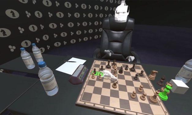 W biurze warszawskiej firmy Immersion rozegrano niecodzienną partię szachów
