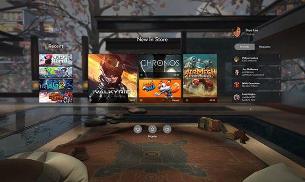 Nowości Oculus Home: strumieniowanie gier z Gear VR na FB, rozpoznawanie mowy, Oculus Events…