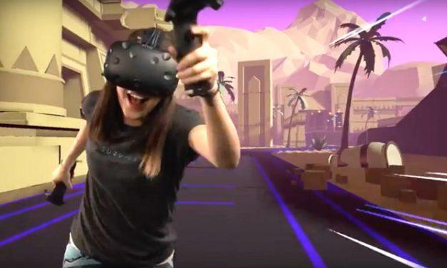 """Twórcy """"Raw Data"""" powrócą z grą """"Sprint Vector"""" VR wykorzystującą nietypową technikę lokomocji"""