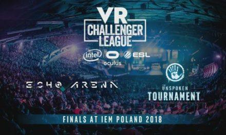 """Liga """"e-sport VR"""" dołącza do ESL. W Katowicach odbędą się finały 'VR Challenger League'"""