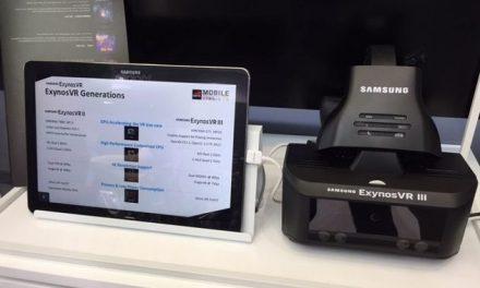 """Zaprezentowano """"ExynosVR III"""" – samodzielne gogle 4K z eye-trackingiem od Samsunga"""