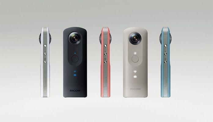 Ricoh zaprezentował sferyczną kamerę 4K – Theta V