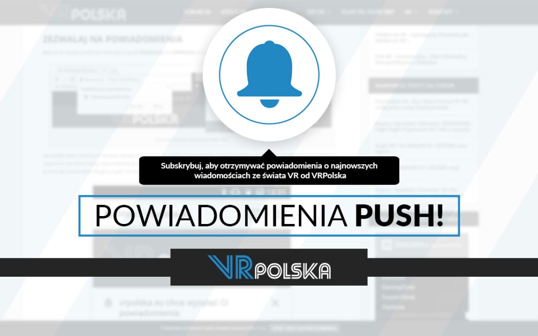 Powiadomienia o najnowszych wpisach przez push! – Drobne zmiany na portalu