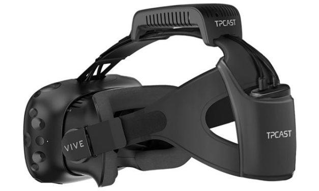 Ruszyła europejska przedsprzedaż bezprzewodowej przystawki TPCast dla gogli HTC Vive