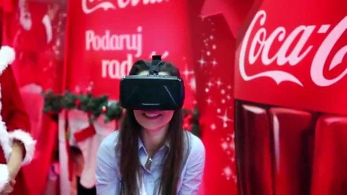 Coca-Cola opowiada o swoim wkładzie w polską gospodarkę za pomocą wirtualnej rzeczywistości