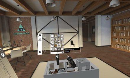 Immersion wypuszcza aplikację TrueScale pozwalającą na projektowanie wnętrz w VR