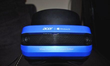 Recenzja gogli Acer Windows Mixed Reality