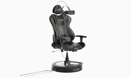 Interaktywny fotel Roto VR dostępny w sprzedaży
