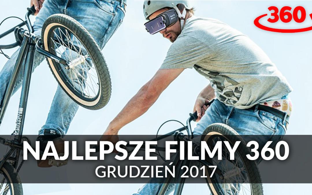Najlepsze filmy 360° – Grudzień 2017