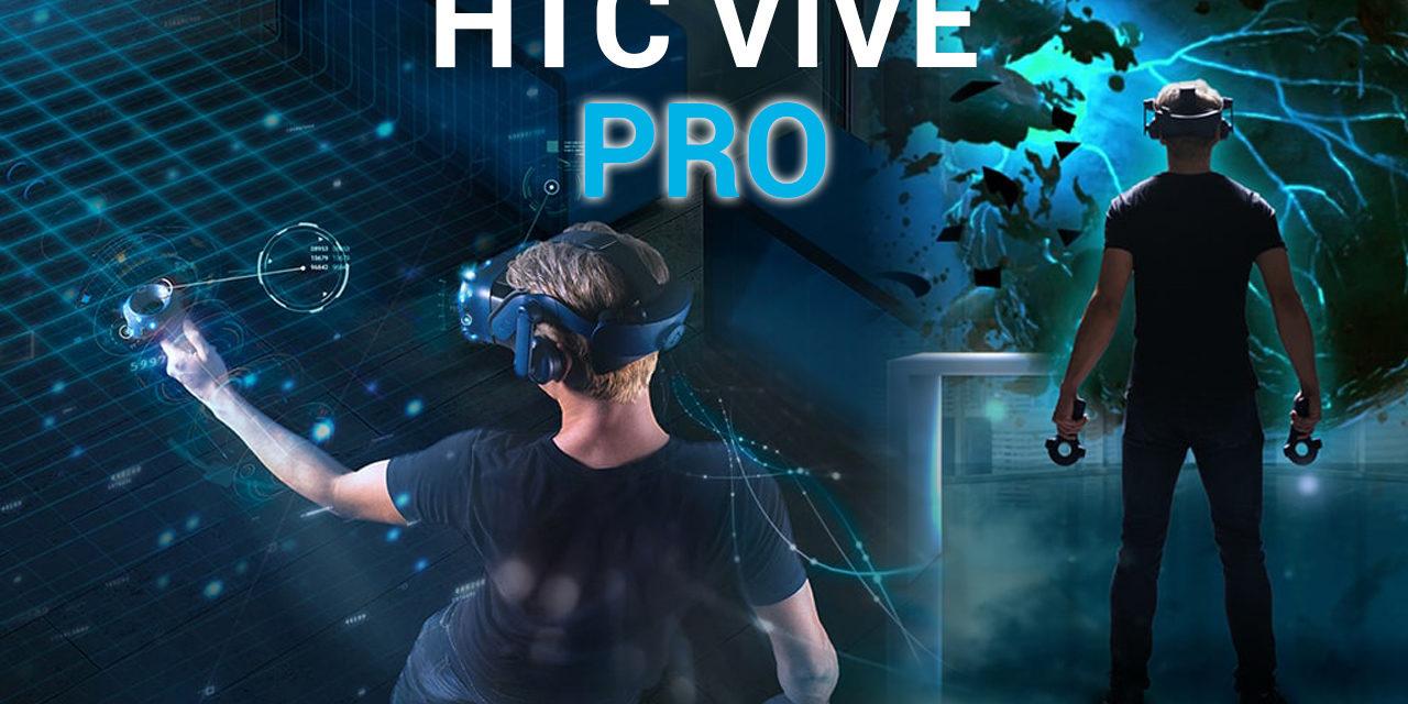 HTC Vive PRO – zapowiedź