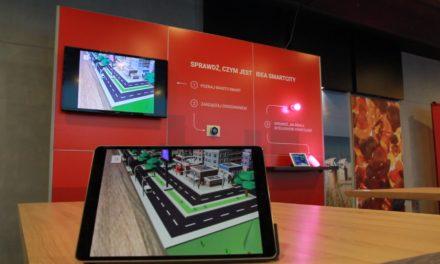 Futurystyczna wizja miasta w Rozszerzonej Rzeczywistości z GPEC i Delivr