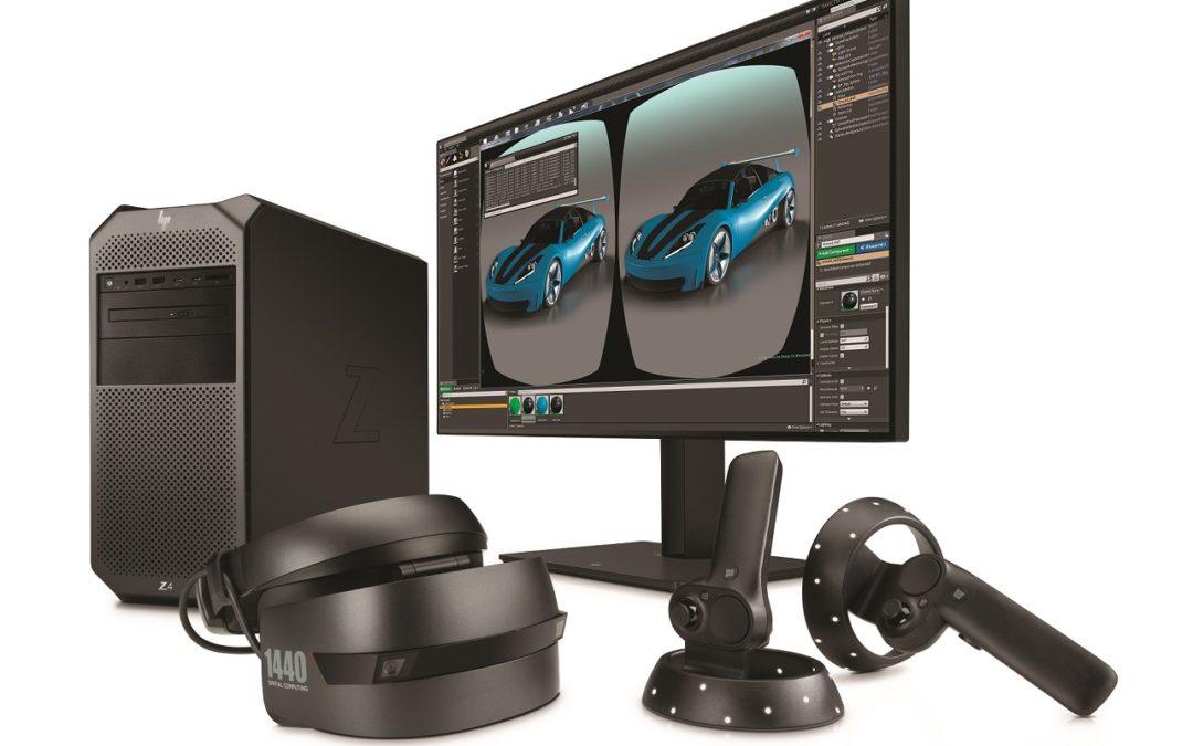 HP Mixed Reality Proffesional Edition oraz wydajniejsza stacja robocza Z4