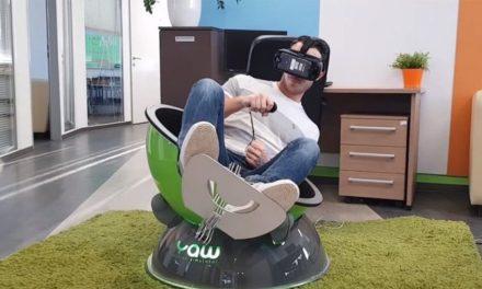 Na Kickstarterze ufundowano fotel Yaw VR – symulator ruchu pogłębiający imersję w grach