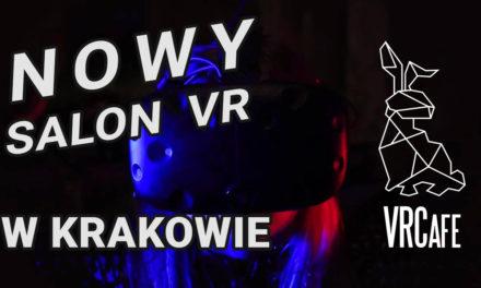 VRCafe – zaproszenie na otwarcie nowego salonu VR w Krakowie