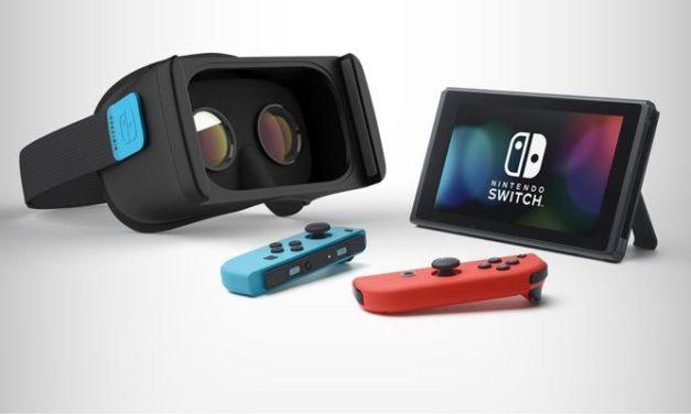 Nintendo Switch posiada ukryty tryb VR?