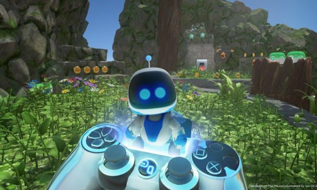 ASTRO BOT Rescue Mission grą roku PlayStation VR?