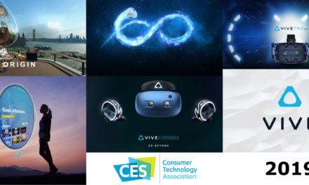 HTC Vive Pro EYE, Vive Cosmos, VivePort Infinity, Firefox Reality, Origin, Vive. Konferencja HTC na CES 2019.