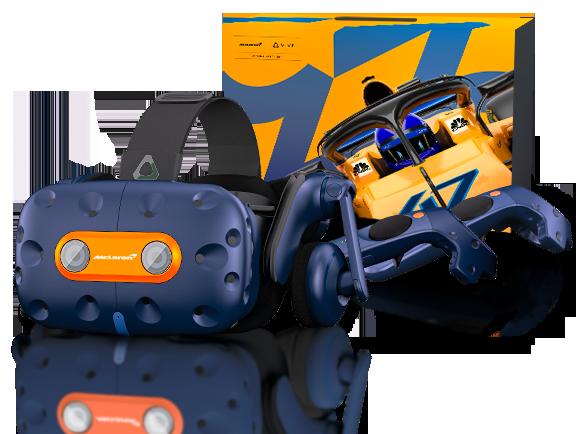HTC Vive Pro McLaren – nie ograniczaj się do oglądania wyścigów, weź w nich udział