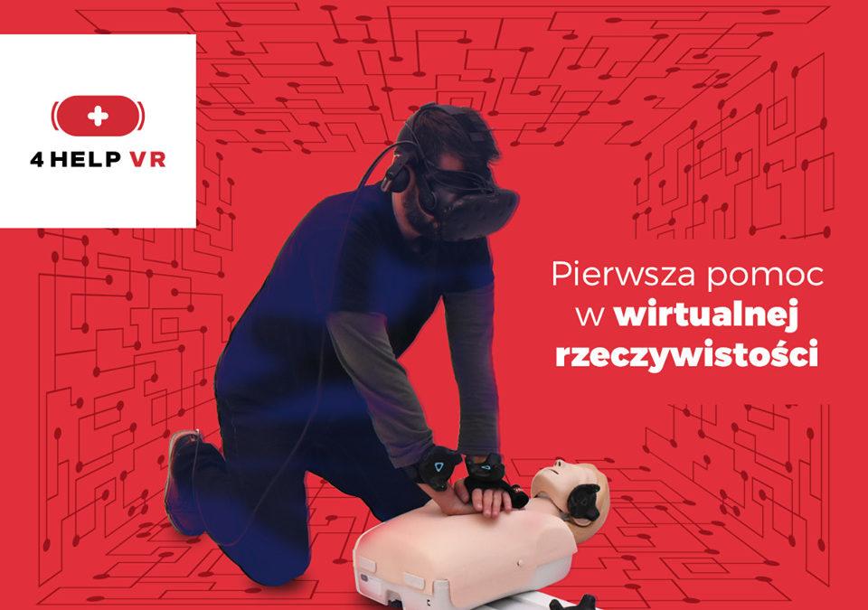 """Nauka pierwszej pomocy w Wirtualnej Rzeczywistości w ramach spotkań """"Bezpieczny i MotoPomocny Motocyklista"""""""