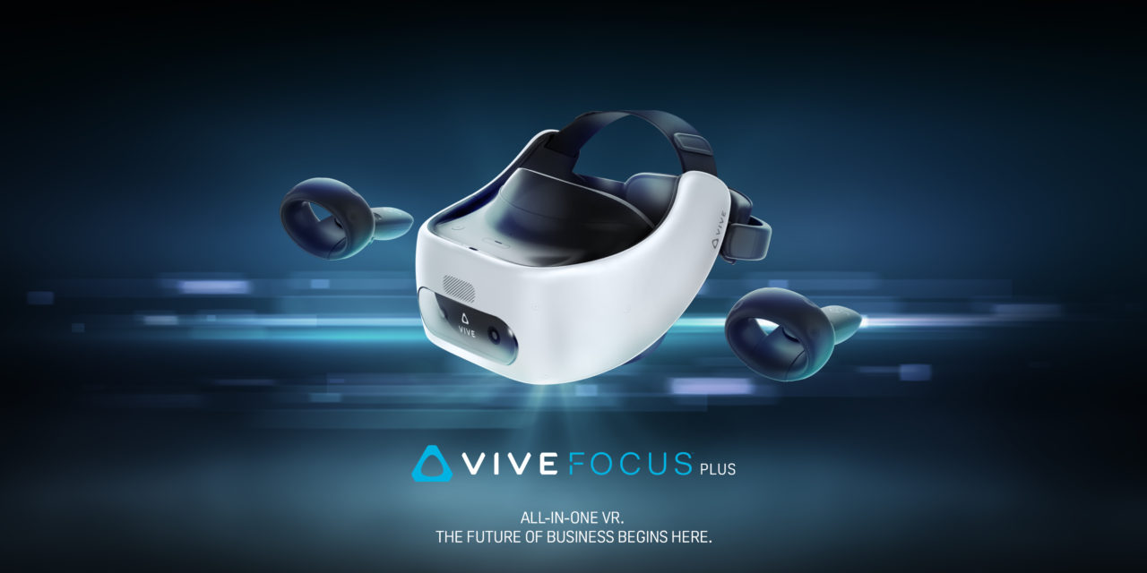 HTC Vive Focus Plus – zapowiedź zestawu VR klasy premium dla biznesu