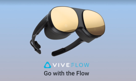 HTC VIVE FLOW – Headset do medytacji i oglądania Netflixa